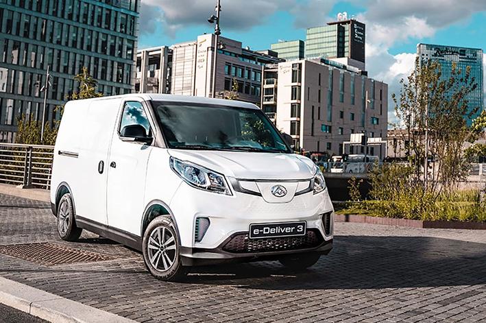 Maxus e-Deliver 3 varebil