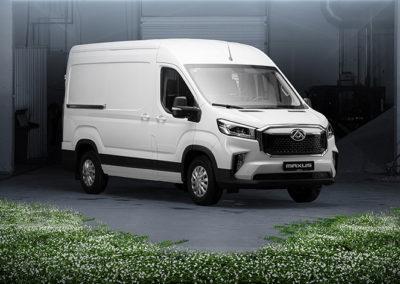 Maxus e-Deliver 9 varebil